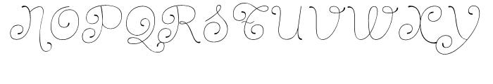 Dulce Pro Italic Font UPPERCASE