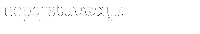 Dulce Pro Regular Font LOWERCASE