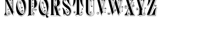 Durham Abbey NF Regular Font UPPERCASE