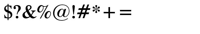 Dutch 801 Semi-Bold Font OTHER CHARS