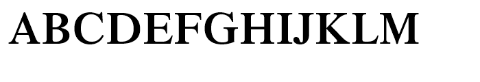 Dutch 801 Semi-Bold Font UPPERCASE