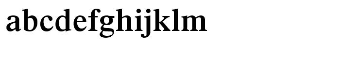 Dutch 801 Semi-Bold Font LOWERCASE