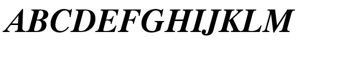 Dutch 801 WGL Bold Italic Font UPPERCASE