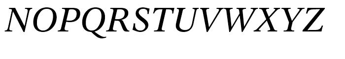 Dutch 809 Italic Font UPPERCASE