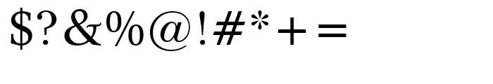 Dutch 809 Roman Font OTHER CHARS