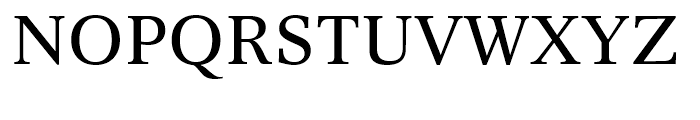 Dutch 809 Roman Font UPPERCASE