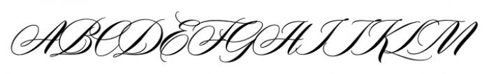 Duende Regular Font UPPERCASE