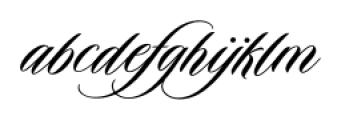 Duende Regular Font LOWERCASE