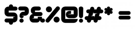 Duplex Regular Font OTHER CHARS