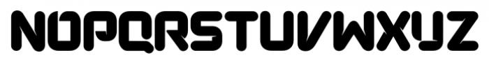 Duplex Regular Font UPPERCASE