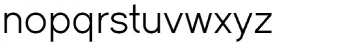 Dual 400 Font LOWERCASE