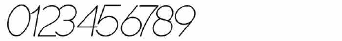 Duase Light Oblique Font OTHER CHARS