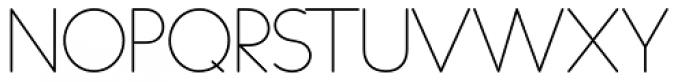 Duase Light Font UPPERCASE