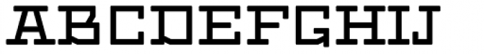 Dubster Bold Font UPPERCASE