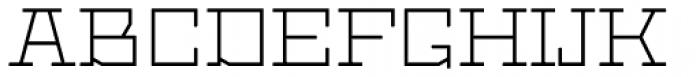 Dubster Light Font UPPERCASE