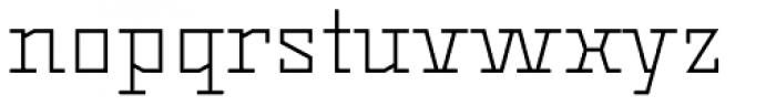 Dubster Light Font LOWERCASE