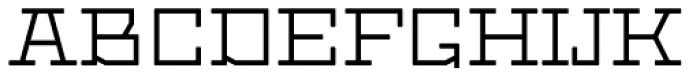 Dubster Font UPPERCASE