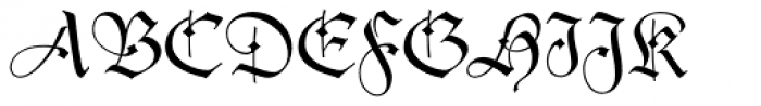 Duc De Berry Dfr Font UPPERCASE