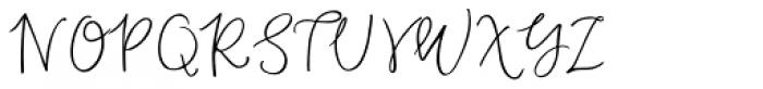Duckbite Alternates Font UPPERCASE