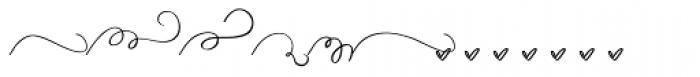 Duckbite Swashes Font UPPERCASE