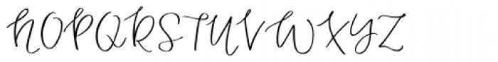 Duckbite Font UPPERCASE