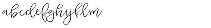 Duckbite Font LOWERCASE