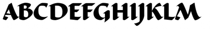 Ductus Bold Font UPPERCASE