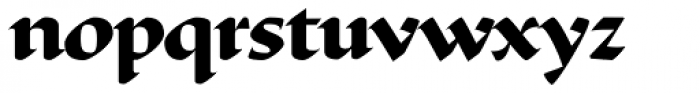 Ductus Bold Font LOWERCASE