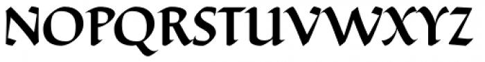 Ductus Medium Font UPPERCASE
