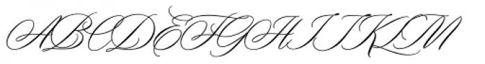 Duende Light Font UPPERCASE
