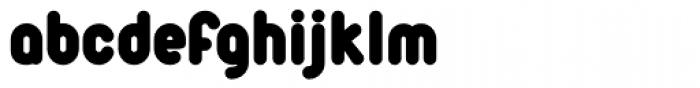 Duepuntozero Black Font LOWERCASE