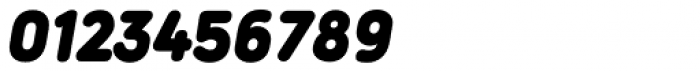 Duepuntozero Pro Black Italic Font OTHER CHARS