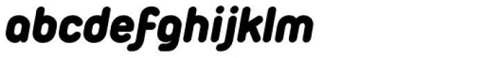 Duepuntozero Pro Black Italic Font LOWERCASE