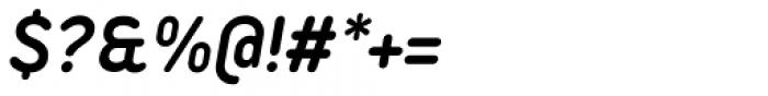 Duepuntozero Pro Bold Italic Font OTHER CHARS