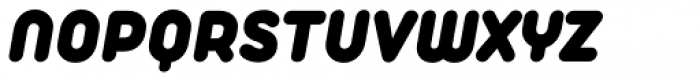 Duepuntozero Pro Heavy Italic Font UPPERCASE