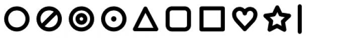 Duepuntozero Pro Icon Bold Font OTHER CHARS