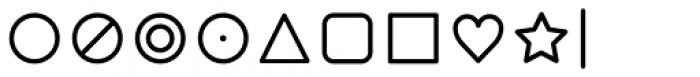 Duepuntozero Pro Icon Book Font OTHER CHARS
