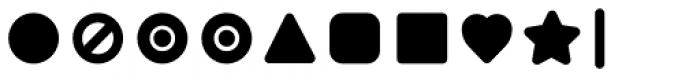 Duepuntozero Pro Icon Extrabold Font OTHER CHARS