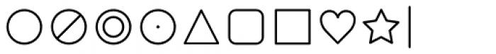Duepuntozero Pro Icon Light Font OTHER CHARS