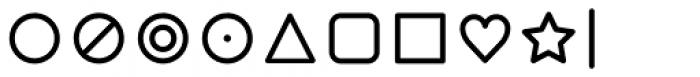 Duepuntozero Pro Icon Regular Font OTHER CHARS