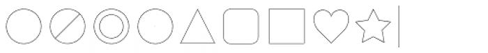 Duepuntozero Pro Icon Thin Font OTHER CHARS