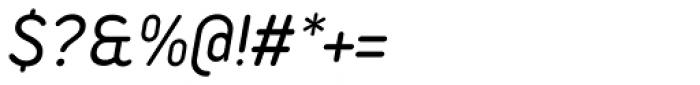 Duepuntozero Pro Italic Font OTHER CHARS