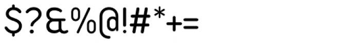 Duepuntozero Pro Regular Font OTHER CHARS
