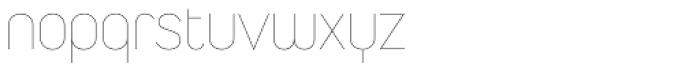 Duepuntozero Pro Thin Font LOWERCASE