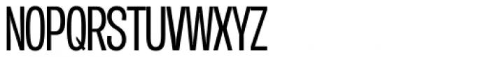 Duera Condensed Light Font UPPERCASE