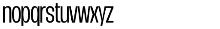 Duera Condensed Light Font LOWERCASE