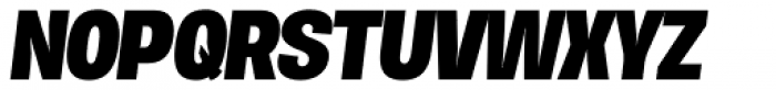Duera Normal Bold Italic Font UPPERCASE