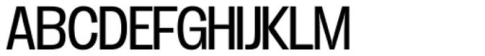 Duera Normal Light Font UPPERCASE