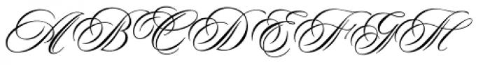 Duet DT Font UPPERCASE