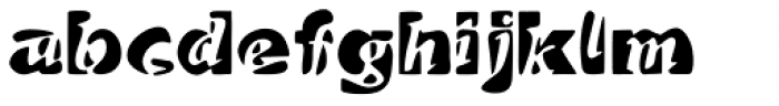 Duetto Font LOWERCASE
